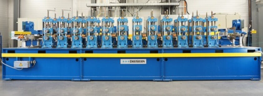 Dreistern roll forming machine P3 at IBF